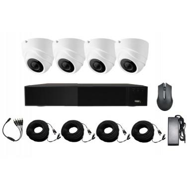 Готовый комплект видеонаблюдения Kit-1MP4CH