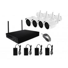 Готовый комплект видеонаблюдения Kit-W4CH
