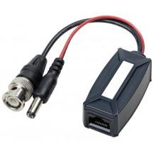 Преобразователь-передатчик питания и видеосигнала по кабелю UTP