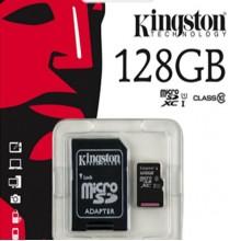 Карта памяти Micro SDXC 128Gb Kingston